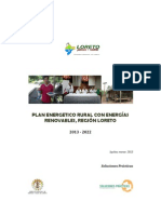 Documento Plan Regional de Loreto VF Marzo 2013