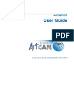 ArtCAM Pro 2012 UserGuide