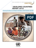 THE LEAST DEVELOPED COUNTRIES REPORT 2012
