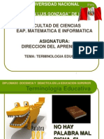 Tema 1 Terminologia Educativa Rccd 2011