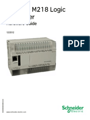 m218_plc pdf | Cable | Electrical Wiring
