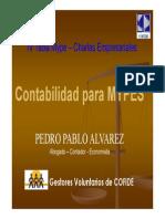 Contabilidad Para Mypes Pedro Alvarez