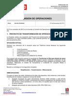 2013_11_27 Informe COMITE Operaciones TdE
