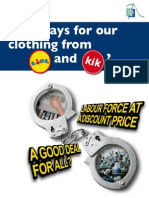 Who Pays for Our Clothing From Lidl and KiK