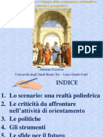 Politica Scolastica e Competenze Orientative