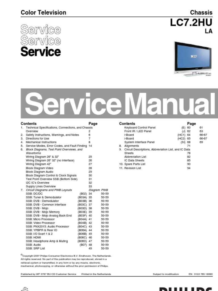 televisions philips 32 service manual mains electricity rh pt scribd com Xerox WorkCentre 3550 Xerox WorkCentre 7845