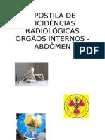 APOSTILA DE INCIDÊNCIAS RADIOLÓGICAS - ABDOMEN