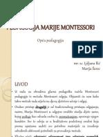 Pedagogija Marije Montessori