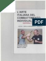 Arte Italiana Combattimento Individuale Parte 1