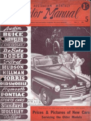 1936 37 38 39 40 41 46  Buick NOS Body Shimming Guide