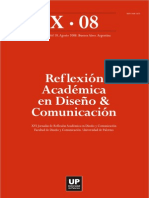 Reflexion Academica en diseño y comunicacion
