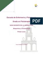 Bioquímica y Farmacología