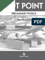 Dot Point physics preliminary