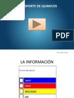 TRANSPORTE QUIMICOS - CONDUCTORES