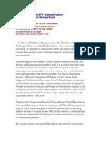 Mossad and the JFK Assassination