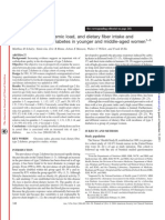 Glycemic Index, Glycemic Load, And Dietary Fiber Intake And