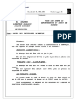 Procedure Demarq Interne
