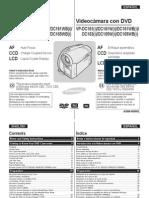Manual VIdeocamara Samsung VPDC161