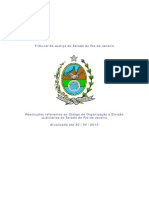 ORGANIZAÇÃO DO TRIBUNAL DA JUSTIÇA DO ESTADO DO RJ