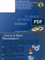 El Marco metodológico. Exposición u