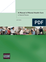 A Manual of Mental Healthcare in General Practice