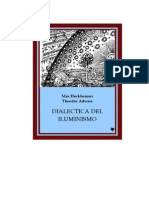 Horkheimer y Adorno Dialectica Del Iluminismo