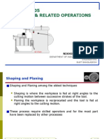Shaping & Grinding and Realated Operations