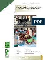 Informe Tráfico Fauna Silvestre 12/2008 - Elaborado por ONG Pronaturaleza