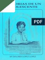Memorias de Un Adolescente Dolores Lopez