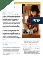 Informacion Para Los Padres La Disciplina
