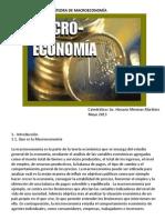 CÁTEDRA DE MACROECONOMÍA