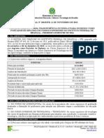 5831_Edital_186 Transfência externa e portador de diploma_2014_1_Cursos Superiores