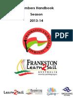 Members Handbook 2013/14