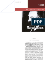 Marcel Mauss - A Noção de Técnica Corporal