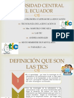 LAS TIC DE EDUCACIÓN