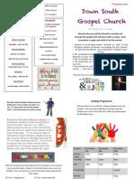 DSG Newsletter 1st December 2013