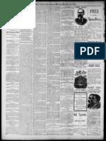 Squaw Rock, Mendocino County Ca 1891 Newspaper Clipping Pomo Legend