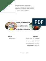 ensayo Teorías del Aprendizaje y la Tecnología