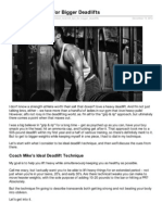 5 Tips for Bigger Deadlifts