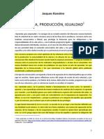 64406811 Ranciere Escuela Produccion Igualdad