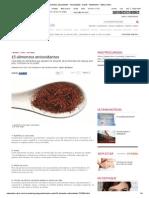 15 alimentos antioxidantes - Alimentação - Saúde - MdeMulher - Editora Abril