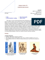 Chinese Religions 1