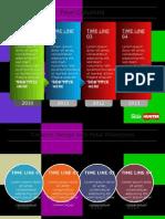 9021 Timppteline Template Powerpoint