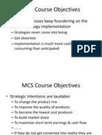 1-MCS Course Objectives