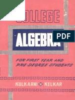 College Algebra (9th Ed)(1973)(Gnv64)
