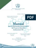Manual Para La Elaboracion de Un Pei Guatemala