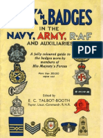 1943 Rank and Badges