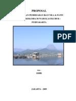 Proposal Pembesaran Ikan Nila Dan Patin Jaring Keramba Waduk Jatiluhur Purwakarta