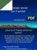 Trabajo Social y Familia Sociologia.