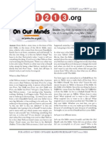 11213.org Issue 2 - 26 Kislev 5774